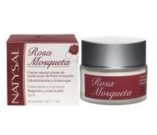 Natysal Cream Rosehips 100% Natural (Dry Skin) 50 ml.