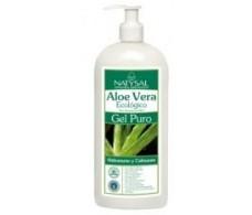 Natysal Aloe Vera Gel Puro hidratante 500ml.