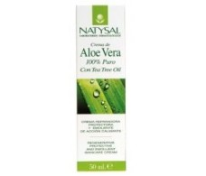 Natysal Crema de Aloe Vera 50 ml.
