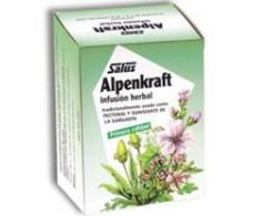 Alpenkraft infusion via respiratorias 15 sobres, Salus.