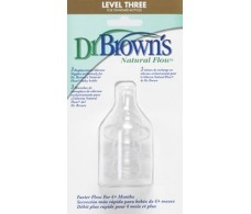 Dr. Brown's Nipples Standar size 3 months 2 +6 pcs.