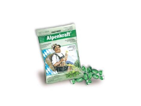 Candies Alpenkraft 75 grams, Salus.