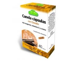 Cinnulin Canela (nível de açúcar) 40 cápsulas. DR Dunner.