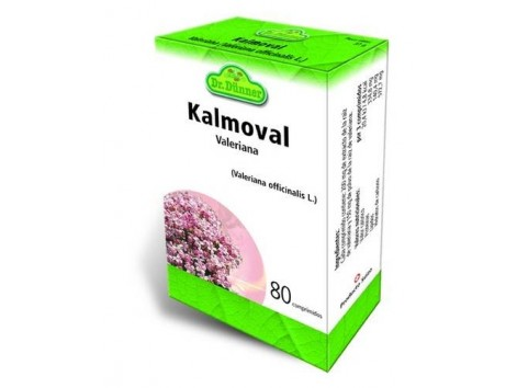Kalmoval Sueño Valeriana 80 comprimidos. Dr Dunner.