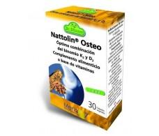 Osteo Nattolin ossos fortes e saudáveis 30 cápsulas.Dr Dunner.