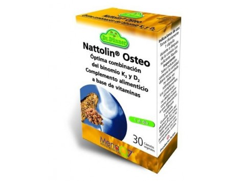 Osteo Nattolin strong and healthy bones 30 capsules. Dr Dunner.