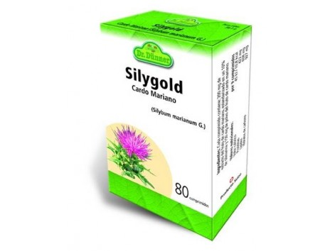 Milk thistle liver Silygold 80 tablets. Dr Dunner.