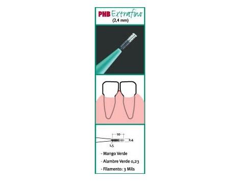 Superfine PHB interdental brushes 6 pcs.