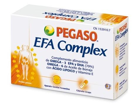 Pegaso Efa Complex 40 capsules.
