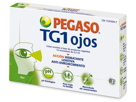 Pegaso TG1 Eyes 10 monodosies.