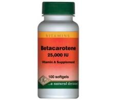 Pal Betacaroteno (Pro-Vitamina A 25000UI) 100 perlas.