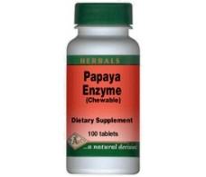 Papaya Pal Enzyma 500mg (Chewable) 60 tablets.