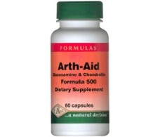 Pal Arth Aid Formula 500 (Glucosamine + Chondroitin) 60 capsules