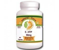 Pal HTP (5-Hydroxytryptophan) 50 mg. 60 capsules.