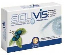 Planta Medica Acuvis 10 single-dose eye drops.