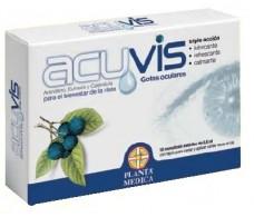Planta Medica Acuvis Gotas oculares 10 monodosis.