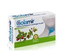 Planta Medica Golam (throat and aphonia) 30 chewable tablets.