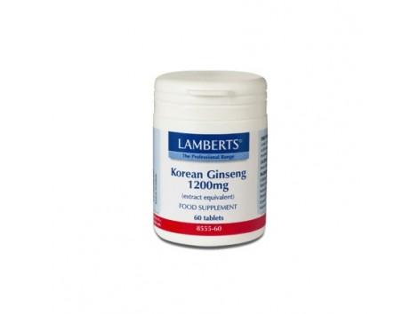 Lamberts Korean Ginseng 1.200mg. 60 tablets.