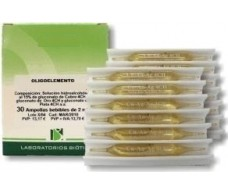 Biotica Hierro (Oligoelemento) 30 ampollas.