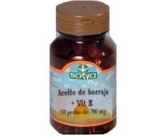 Sotya Aceite de Borraja (acidos grasos) 110 perlas.
