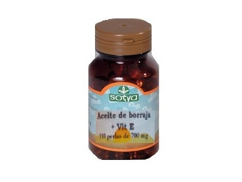 Sotya Borage Oil (fatty acids) 110 pearls.