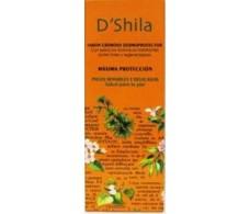 D'Shila Soap dermoprotector (Saponaria, Walnut) 500ml.