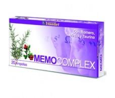 Ynsadiet Memo Complex (memoria) 20 ampollas.