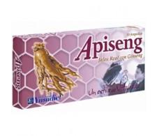 Ynsadiet Apiseng (Jalea Real, Ginseng rojo, Vitaminas B1) 10 amp