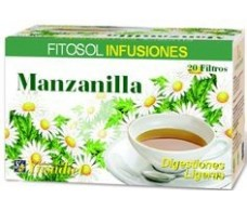 Ynsadiet Fitosol Infusiones Manzanilla (digestivo) 20 filtros.