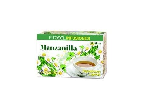 Infusions Fitosol Ynsadiet Manzanilla (digestive) 20 filters.
