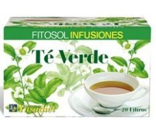 Ynsadiet Fitosol Infusiones Té Verde (control peso) 20 filtros.