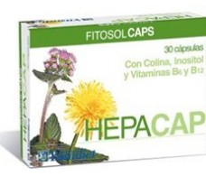Ynsadiet Hepacap (Hepático, Digestivo) 30 cápsulas.