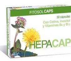 Ynsadiet Hepacap (Liver, Digestive) 30 capsules.
