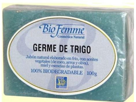Bio Femme Ynsadiet Wheat Germ Soap 100 grams.