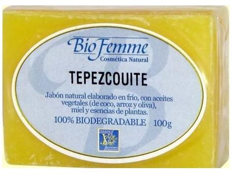 Bio Femme Ynsadiet Tepezcohuite xabón 100 gramos.