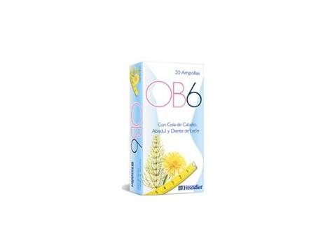 Liquid retention OB6 Ynsadiet 20 blisters.