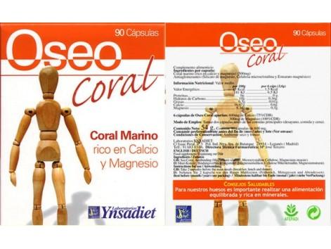 Bone Ynsadiet Coral (joints and bones) 90 capsules.