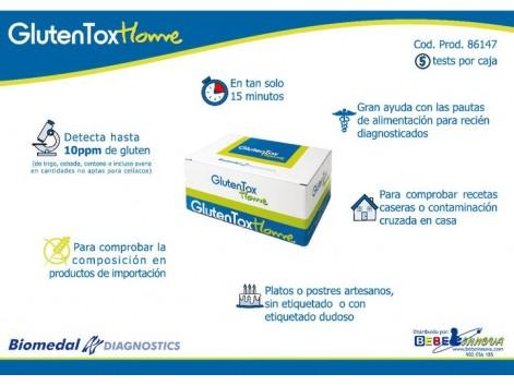 Biomedal GlutenTox Home (test para detectar presencia de gluten)