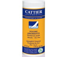 Cattier absorbent powder - Foot Deodorant 65 grams.
