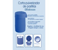 Cortador - pulverizador de pastillas