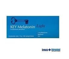 Key Melatonin Light 60 comprimidos.