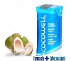 100% Natural Cocowell Agua de Coco 330ml.