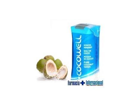 100% Natural Cocowell Agua de Coco 330ml.