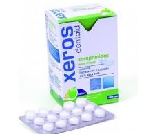 Dentaid Xeros 90 comprimidos para chupar sabor cítrico.