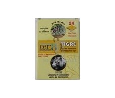 Parches antimosquito Tigre CER 8 ecologico 24 paches.