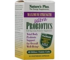 Natures Plus Ultra Probiotics 30 Vegetarian Capsules.