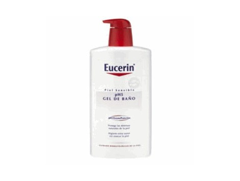 Eucerin Piel Sensible ph5 Gel de Baño 1000 ml.