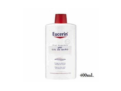 Eucerin Piel Sensible ph5 Gel de Baño 400 ml.