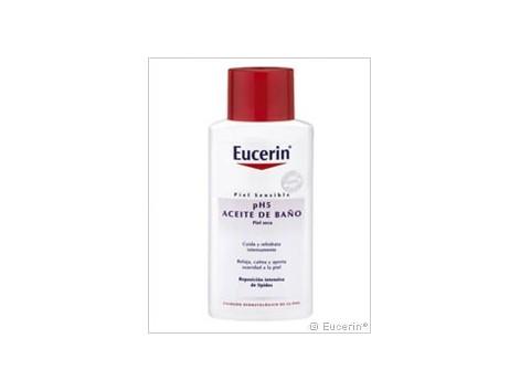 Eucerin Piel Sensible ph5 Aceite de Baño piel seca 200ml.