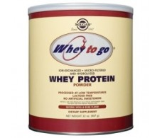 "Protein Powder Solgar ""Whey to go"" Vanilla 340g."